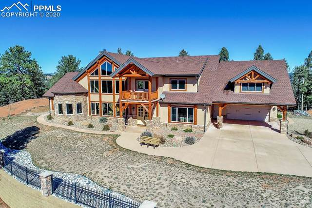 684 Kylie Heights Heights, Woodland Park, CO 80863 (#8720840) :: The Treasure Davis Team