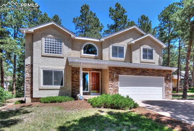 1520 Woodrose Court, Colorado Springs, CO 80921 (#8721089) :: The Treasure Davis Team