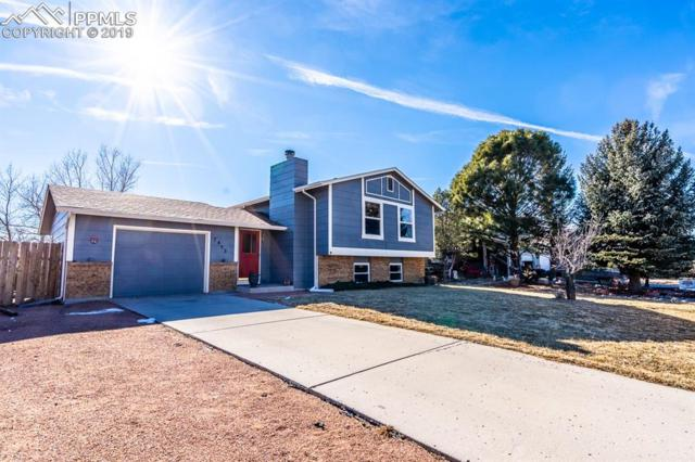 7455 Painted Rock Drive, Colorado Springs, CO 80911 (#8723788) :: The Hunstiger Team