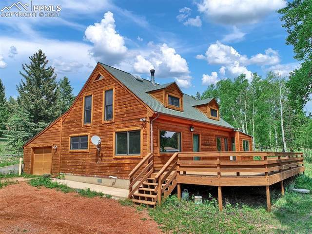 561 Mills Ranch Road, Woodland Park, CO 80863 (#8725615) :: Tommy Daly Home Team