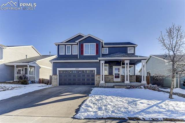 6443 Galeta Drive, Colorado Springs, CO 80923 (#8739118) :: The Dixon Group