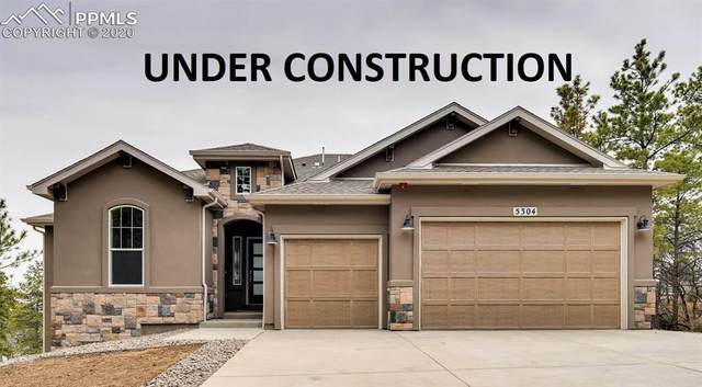 627 High Lonesome View, Colorado Springs, CO 80906 (#8743358) :: The Kibler Group