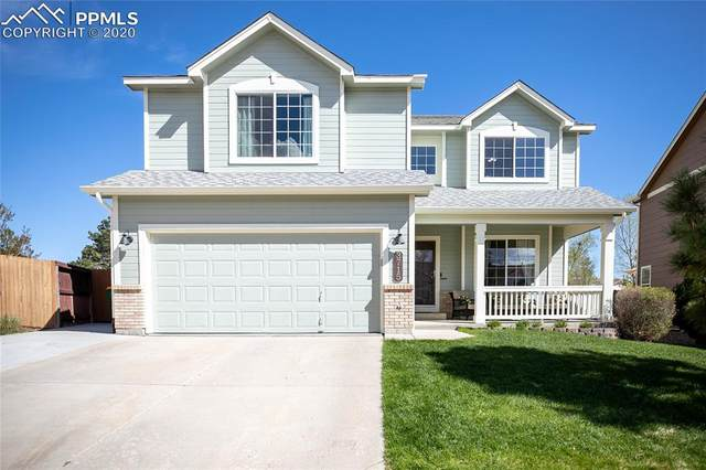 3715 Hampton Park Drive, Colorado Springs, CO 80920 (#8754363) :: The Treasure Davis Team