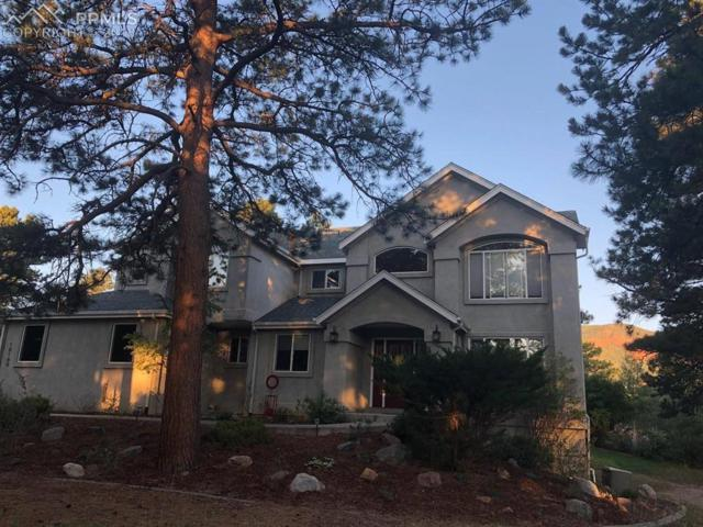 18180 Sunburst Drive, Monument, CO 80132 (#8756936) :: The Hunstiger Team
