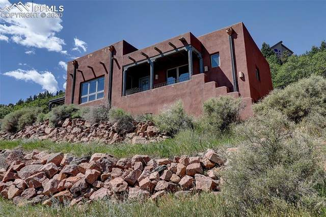 870 Oak Ridge Road, Manitou Springs, CO 80829 (#8763056) :: Tommy Daly Home Team