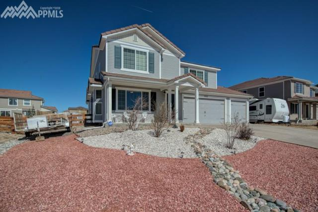 10918 Cascading Spring Circle, Peyton, CO 80831 (#8799361) :: The Treasure Davis Team