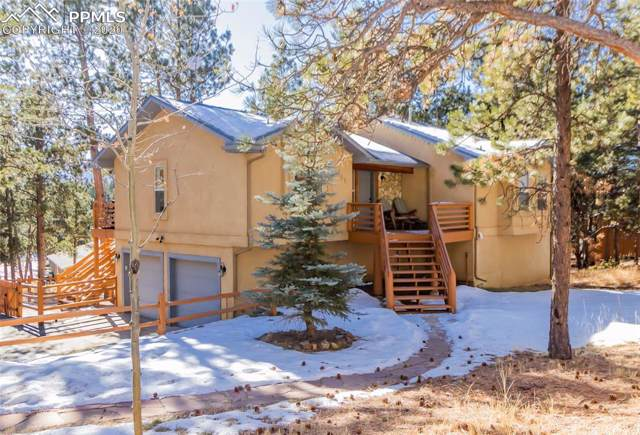 161 E Ridge Drive, Woodland Park, CO 80863 (#8803005) :: Tommy Daly Home Team