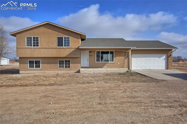 331 E Hahns Peak Avenue, Pueblo West, CO 81007 (#8804160) :: The Treasure Davis Team