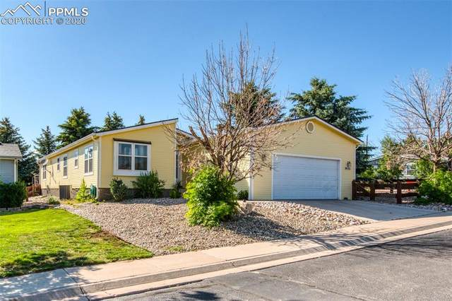 4006 Gray Fox Heights, Colorado Springs, CO 80922 (#8814181) :: The Treasure Davis Team
