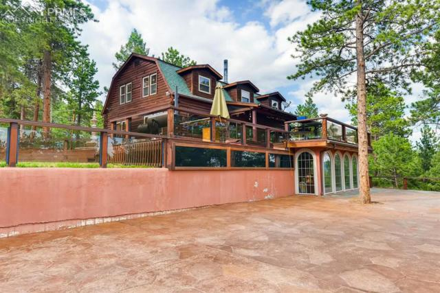 3827 County 25 Road, Woodland Park, CO 80863 (#8829133) :: The Hunstiger Team