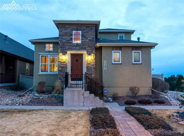 5585 Blue Moon Drive, Colorado Springs, CO 80924 (#8836794) :: The Hunstiger Team