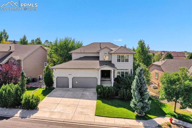 489 Saber Creek Drive, Monument, CO 80132 (#8842536) :: The Treasure Davis Team
