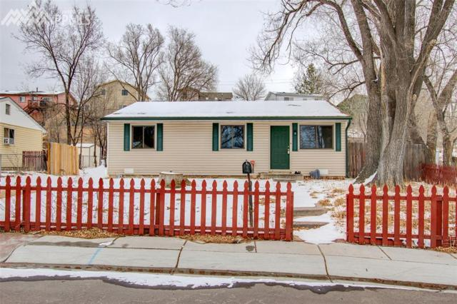 2129 Frontier Drive, Colorado Springs, CO 80911 (#8861456) :: The Dunfee Group - Keller Williams Partners Realty