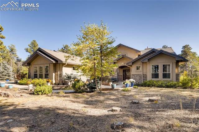 8835 Whispering Pine Trail, Colorado Springs, CO 80908 (#8877427) :: The Hunstiger Team
