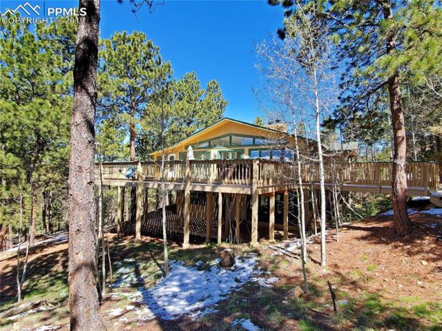 1150 Forest Hill Place, Woodland Park, CO 80863 (#8919596) :: Colorado Home Finder Realty
