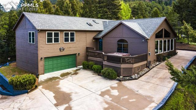 1068 Parkview Road, Woodland Park, CO 80863 (#8921057) :: Tommy Daly Home Team