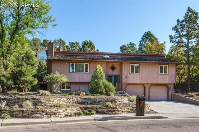 1710 Vickers Drive, Colorado Springs, CO 80918 (#8990084) :: The Treasure Davis Team