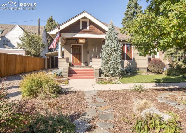 310 E San Rafael Street, Colorado Springs, CO 80903 (#8995573) :: Jason Daniels & Associates at RE/MAX Millennium