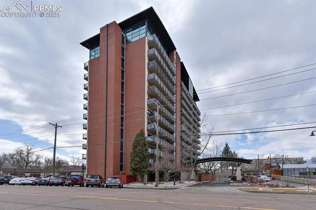417 E Kiowa Street #302, Colorado Springs, CO 80903 (#9005676) :: The Gold Medal Team with RE/MAX Properties, Inc