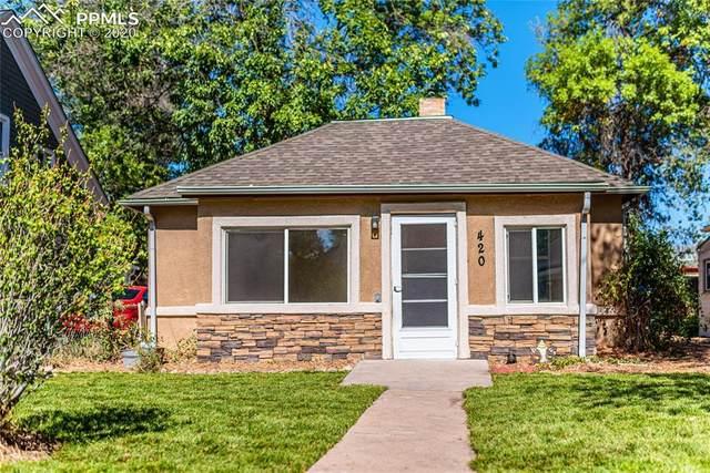 420 E St Vrain Street, Colorado Springs, CO 80903 (#9033742) :: The Treasure Davis Team