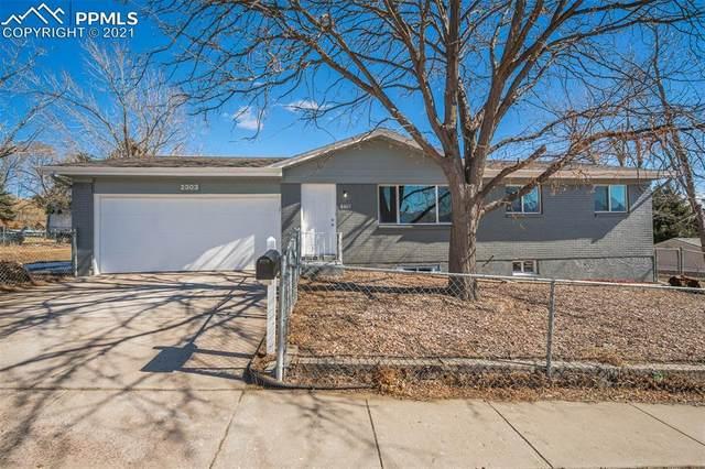 2303 Sombrero Drive, Colorado Springs, CO 80910 (#9035085) :: The Harling Team @ HomeSmart
