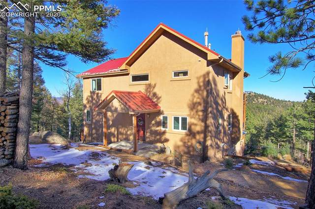 2185 Deer Mountain Road, Manitou Springs, CO 80829 (#9035376) :: Action Team Realty