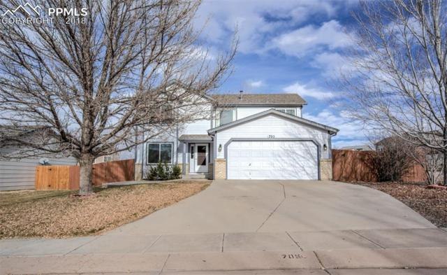 705 Stargate Drive, Colorado Springs, CO 80911 (#9056883) :: The Hunstiger Team