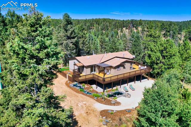 403 Pioneer Creek Drive, Florissant, CO 80816 (#9057690) :: Action Team Realty