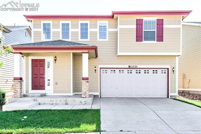 11535 Black Maple Lane, Colorado Springs, CO 80921 (#9064044) :: Tommy Daly Home Team
