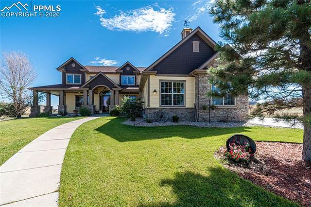 41865 Muirfield Loop, Elizabeth, CO 80107 (#9070778) :: The Treasure Davis Team