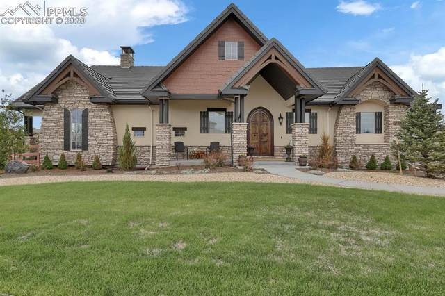 2314 Coyote Crest View, Colorado Springs, CO 80921 (#9122049) :: Action Team Realty