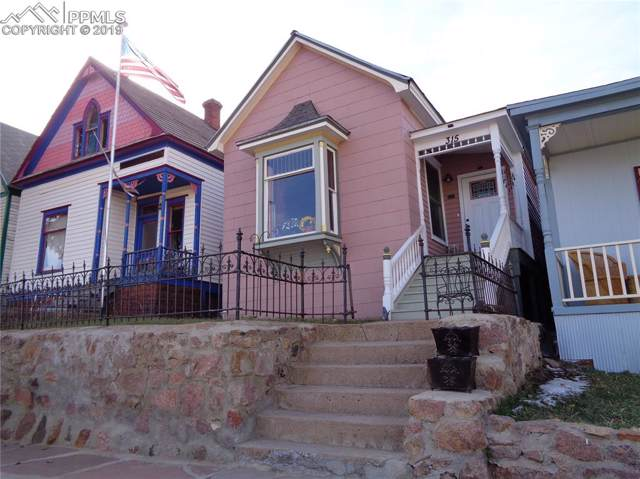 315 S 4th Street, Victor, CO 80860 (#9124487) :: Tommy Daly Home Team