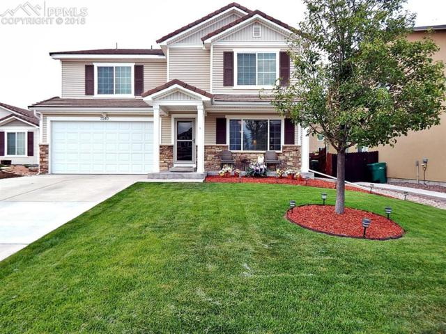 7540 Short Grass Court, Colorado Springs, CO 80915 (#9129295) :: The Hunstiger Team