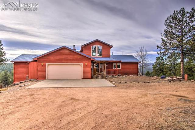1053 Circle Drive, Florissant, CO 80816 (#9166432) :: The Kibler Group