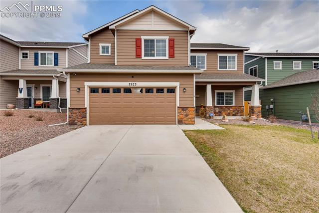 7923 Wagonwood Place, Colorado Springs, CO 80908 (#9168000) :: The Hunstiger Team