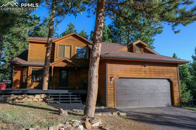 780 Pinon Ridge Drive, Woodland Park, CO 80863 (#9216565) :: The Kibler Group