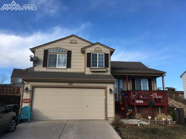 1140 Legend Oak Drive, Fountain, CO 80817 (#9220377) :: The Hunstiger Team