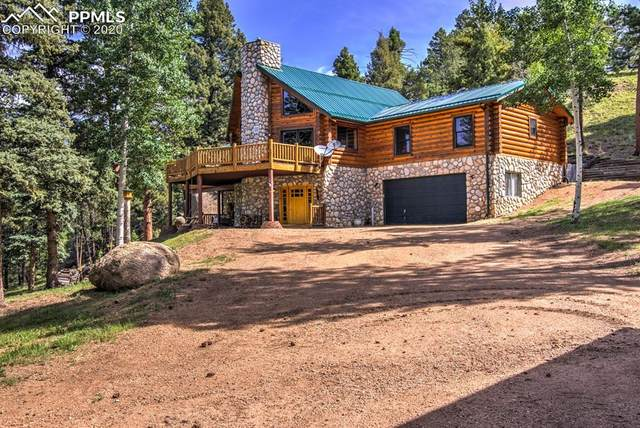 2740 County Road 782 Road, Woodland Park, CO 80863 (#9223272) :: CC Signature Group