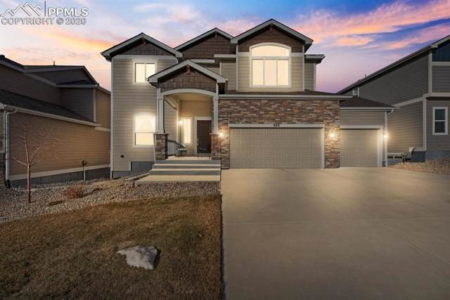 808 Gold Canyon Road, Monument, CO 80132 (#9226782) :: The Kibler Group