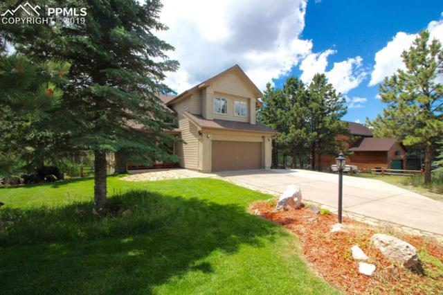 2205 Valley View Drive, Woodland Park, CO 80863 (#9228614) :: The Treasure Davis Team