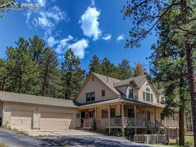 4305 Red Rock Drive, Larkspur, CO 80118 (#9324373) :: Compass Colorado Realty