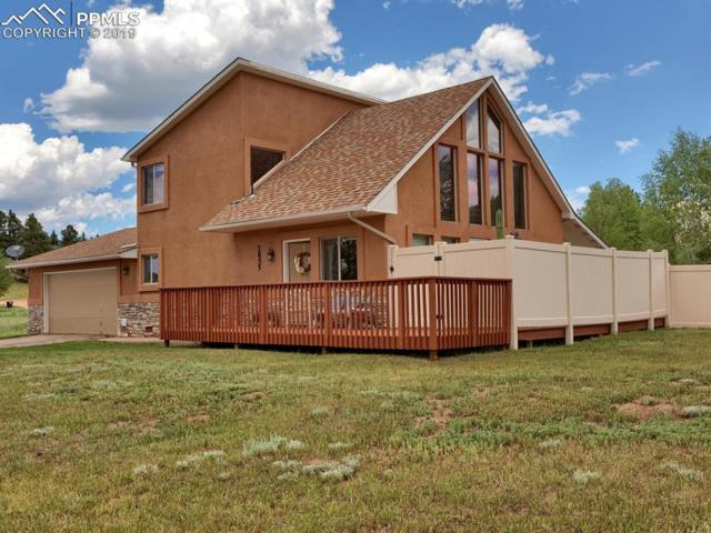 1855 Chippewa Trail, Woodland Park, CO 80863 (#9347639) :: The Treasure Davis Team