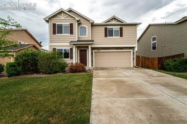 3834 Winter Sun Drive, Colorado Springs, CO 80925 (#9365171) :: The Treasure Davis Team