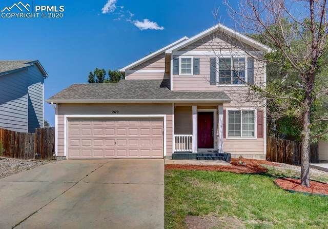 269 Audubon Drive, Colorado Springs, CO 80910 (#9367640) :: Tommy Daly Home Team