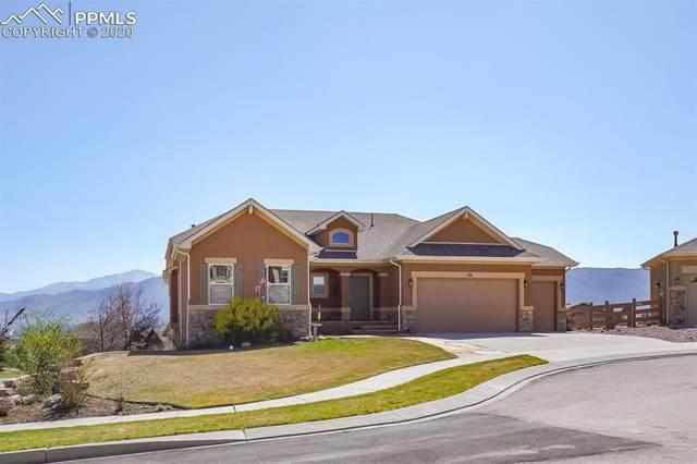 716 Black Arrow Drive, Colorado Springs, CO 80921 (#9377783) :: Venterra Real Estate LLC
