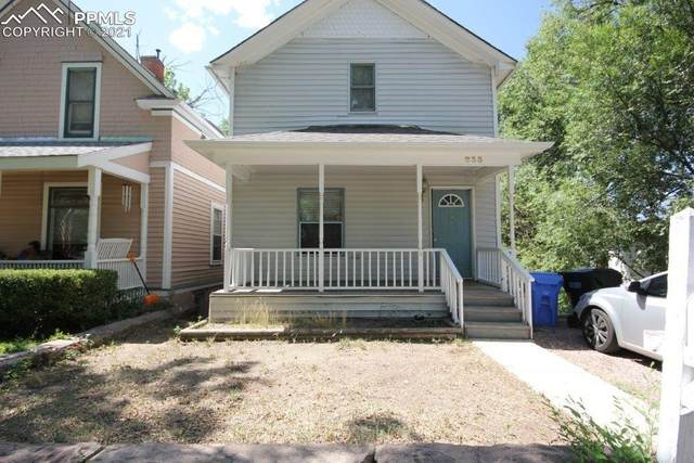 833 E Kiowa Street, Colorado Springs, CO 80903 (#9385820) :: Venterra Real Estate LLC