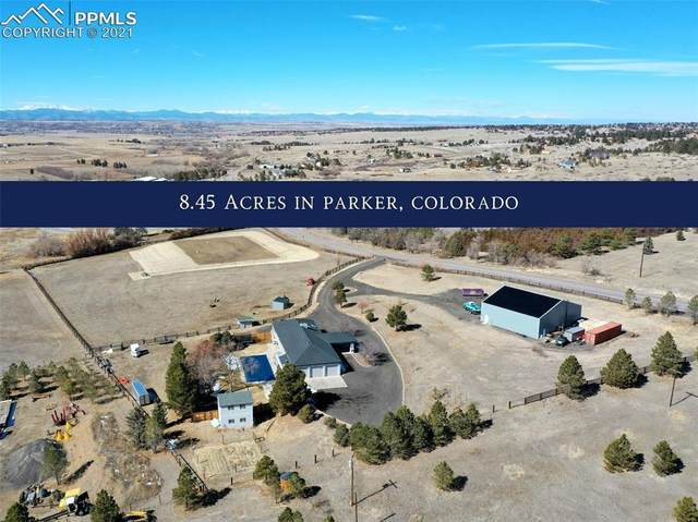 10180 Bayou Gulch Road, Parker, CO 80134 (#9391732) :: 8z Real Estate