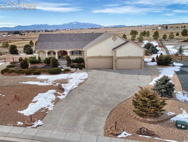 11915 Black Hills Drive, Peyton, CO 80831 (#9411632) :: The Hunstiger Team