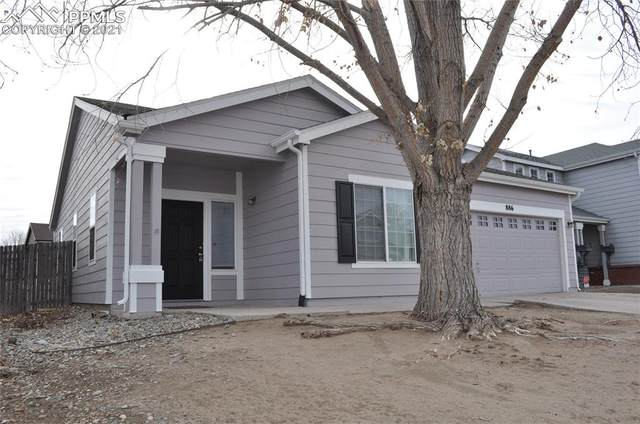 886 Rancher Drive, Fountain, CO 80817 (#9412687) :: HomeSmart