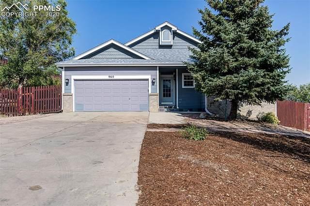 960 Mesa Valley Road, Colorado Springs, CO 80907 (#9413307) :: The Treasure Davis Team